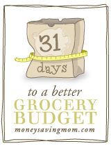 grocery budget sm Money Monday: Money Saving Mom