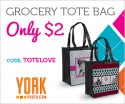 york tote